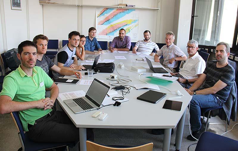 Meeting at the University of Innsbruck